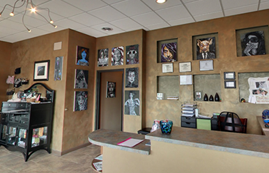 Our Tattoo & Piercing Studio - West Bloomfield, MI | Chroma Tattoo - office